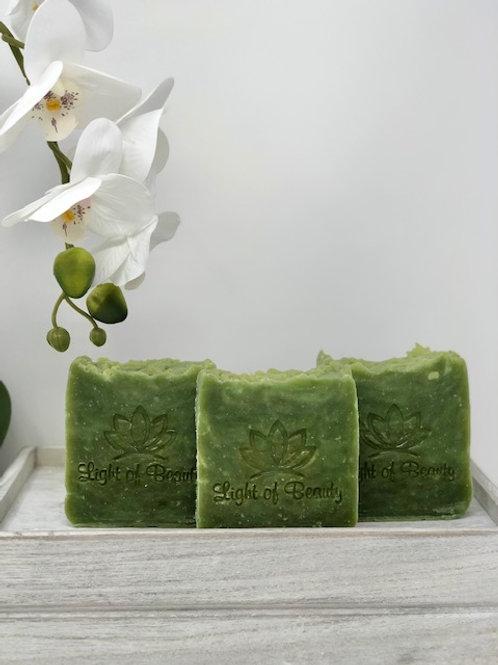 Spirulina Coconut Milk Soap