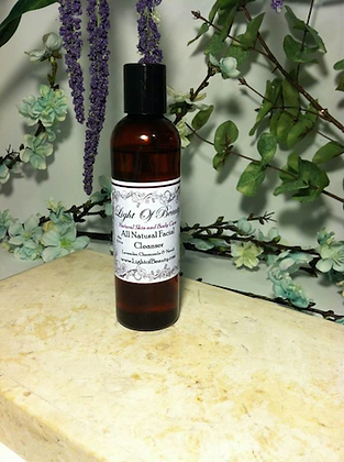 All Natural Facial Cleanser 4oz $8.00