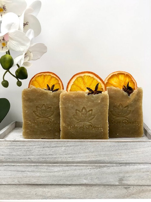 Orange Anise Coconut Milk Soap