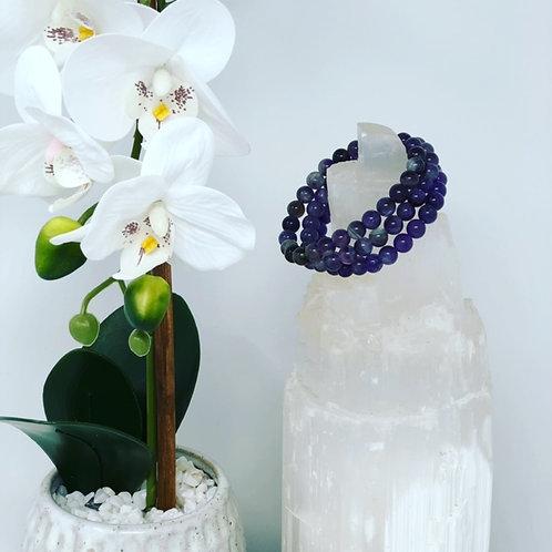 Amethyst Crystal Energy Bracelet