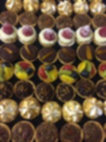 Mini tartlet selection cakes