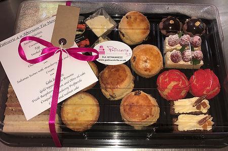 Afternoon tea platter delivered to your door