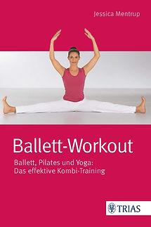 Buchcover_Ballett-Workout von Jessica Me