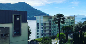 Moderno appartamento con vista lago a Brissago