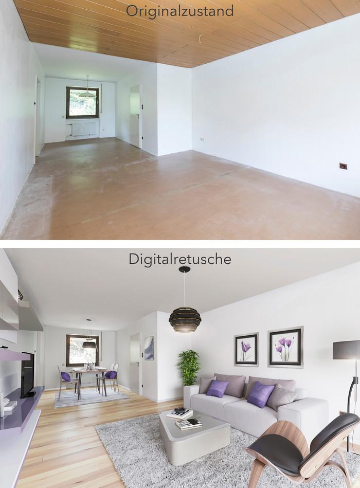 virtuelles Homestaging Riveritas GmbH