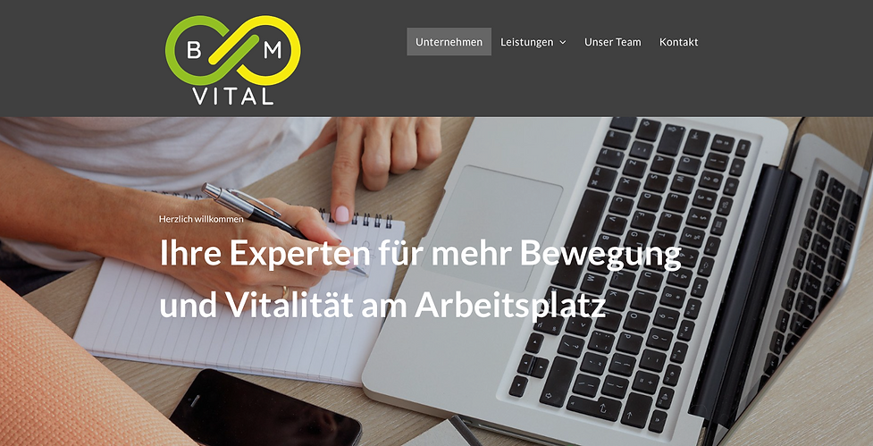 BM VITAL BGM München Fitness Firmenfitness Workout Unternehmen Beratung