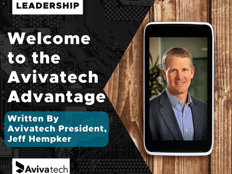 Welcome To the Avivatech Advantage