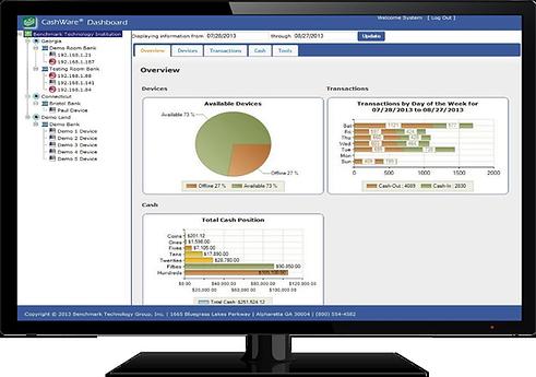 CashWare Advisor Screen - CashWare