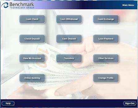 CashWare Self Service Teller - CashWare