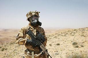 UK CBRN forces