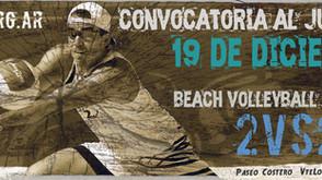 El Beach Volley hará punta en Vicente López Playa - Sábado 19, Diciembre 2015
