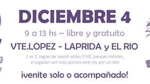 Rey de la Arena - 4 de Diciembre - Vicente López