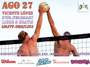 Convocatoria al Juego #22 - 27 de Agosto - Vicente López