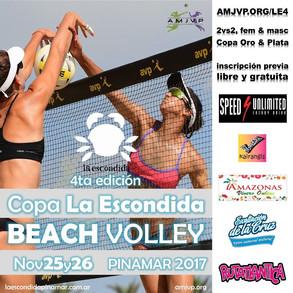 Copa La Escondida, Pinamar - 25 y 26 de Noviembre