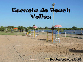 Escuela de Beach Volley - Federación, ER