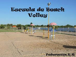 Escuela de Beach Volley - Federación, ER