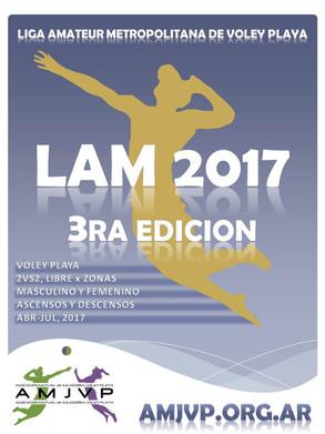 LAM 2017 3ra Edición, anotate!