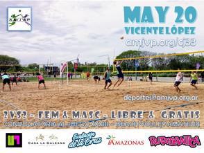 Convocatoria al Juego #33 - 20 de Mayo - Vicente López