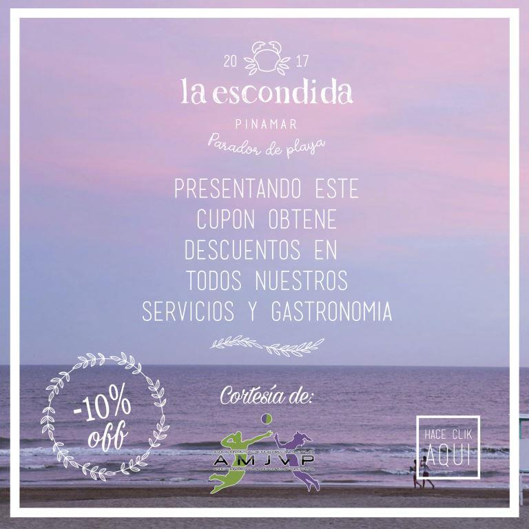 Voucher La Escondida