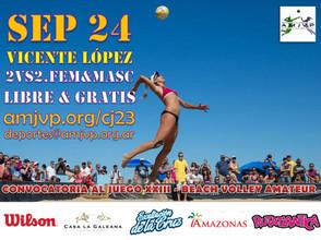 Convocatoria al Juego #23 - 24 de Septiembre - Vicente López