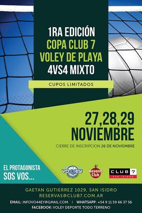 COPA CLUB 7 - 1ra Edición