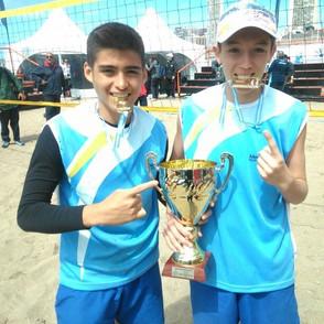 El Beach Volley tunuyanino arrancó bien arriba la temporada 2016