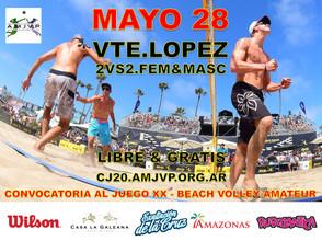 Convocatoria al Juego #20 - 28 de Mayo - Vicente López