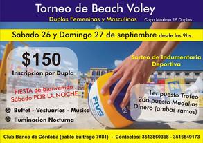 Córdoba - 26 y 27 de Septiembre
