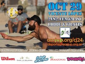 Convocatoria al Juego #24 - 29 de Octubre - Vicente López