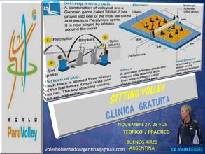 Sitting Volley - Clinica gratuita