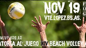 Convocatoria al Juego #14 - 19 de Noviembre - Vicente López