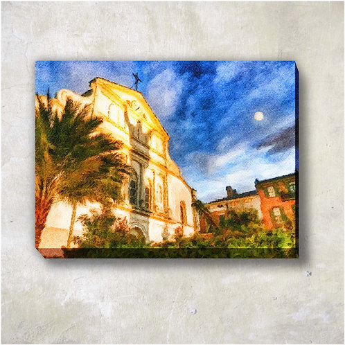 Cathedral Canvas Wall Print