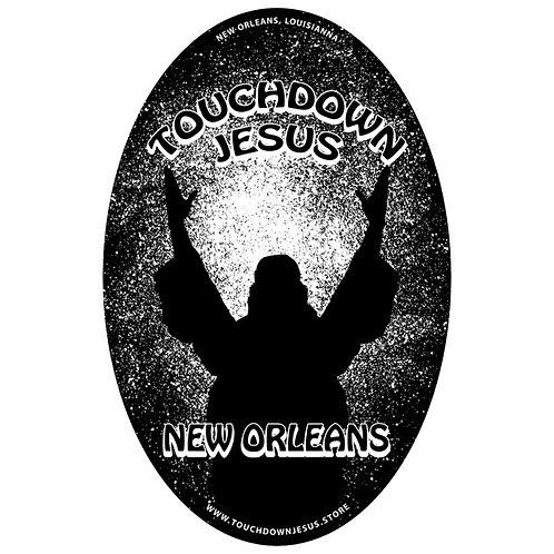 Touchdown Jesus Decal