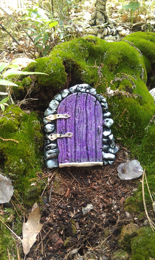 purpledoorwithpurpleglitter