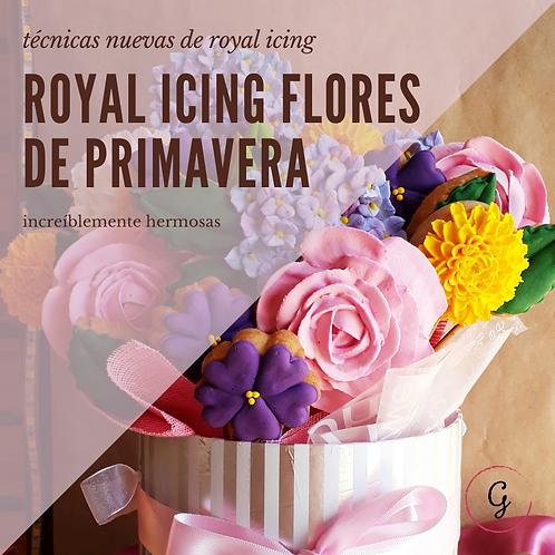 ROYAL ICING FLORES DE PRIMAVERA