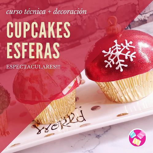 CURSO CUPCAKES DE ESFERAS