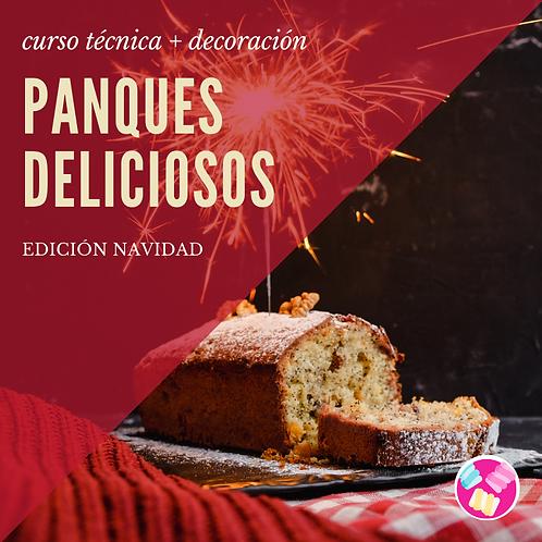 CURSO PANQUES DELICIOSOS (versión navidad)
