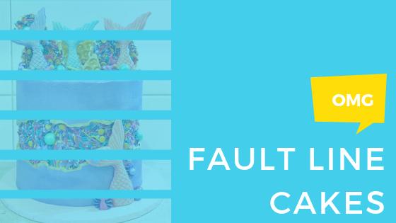 El factor WOW del 2019: Fault Line Cake (pastel con línea de falla).
