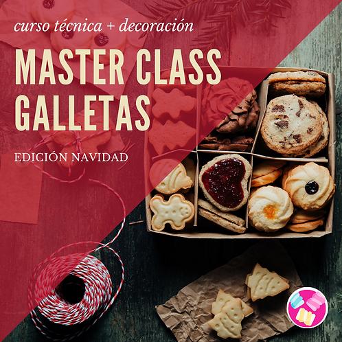 MASTER CLASS GALLETAS NAVIDAD