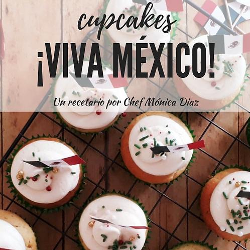 RECETARIO CUPCAKES VIVA MEXICO