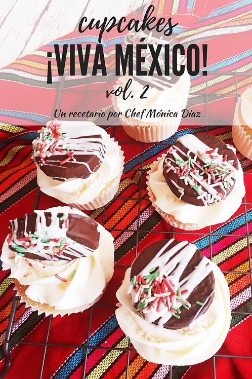 RECETARIO CUPCAKES VIVA MEXICO VOL 2