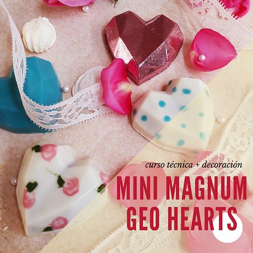 CURSO MINI MAGNUMS & GEOMETRICAL HEARTS