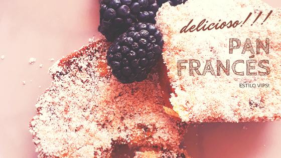 Pan Francés tipo Vips!