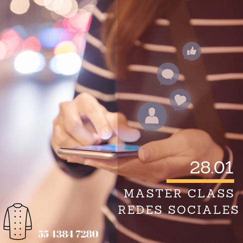 MASTER CLASS REDES SOCIALES
