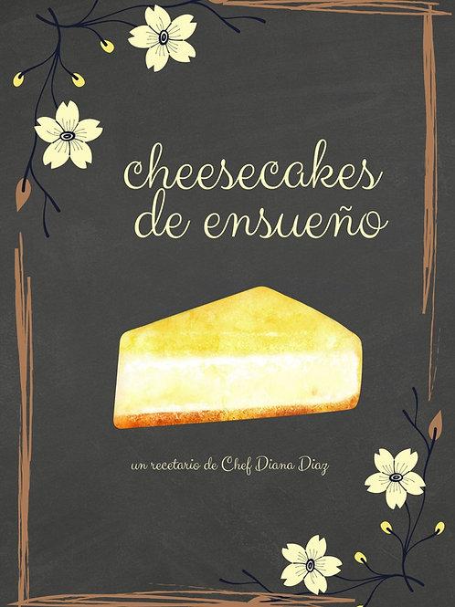 RECETARIO CHEESCAKES DE ENSUEÑO