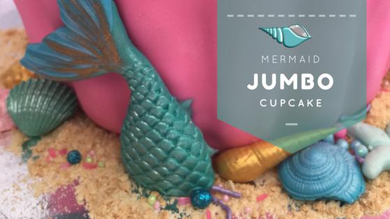 Mermaid Jumbo Cupcake