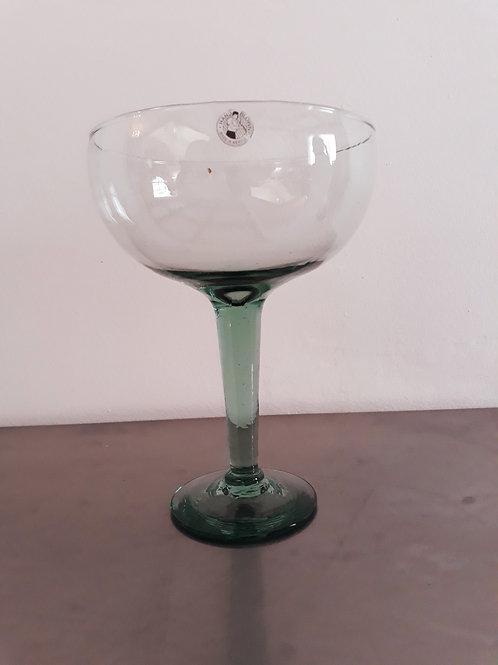 Set de copas de cristal