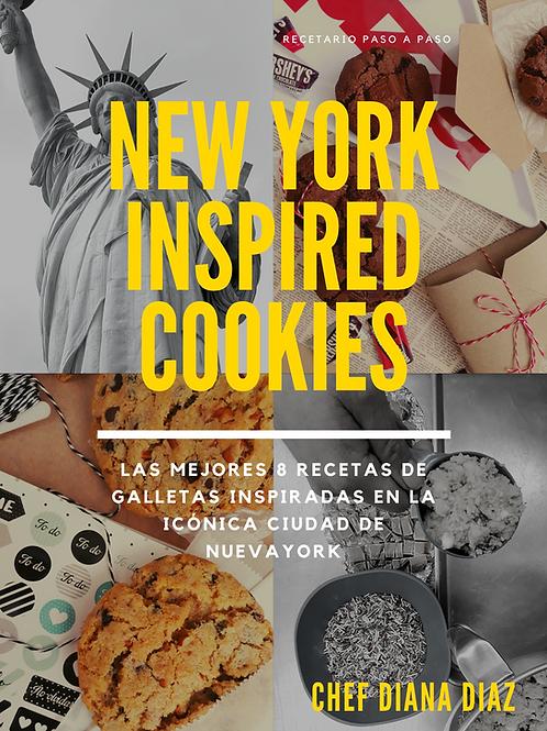 RECETARIO NEW YORK COOKIES