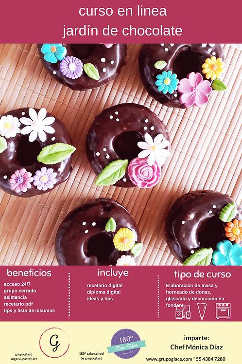 CURSO DONAS JARDIN DE CHOCOLATE
