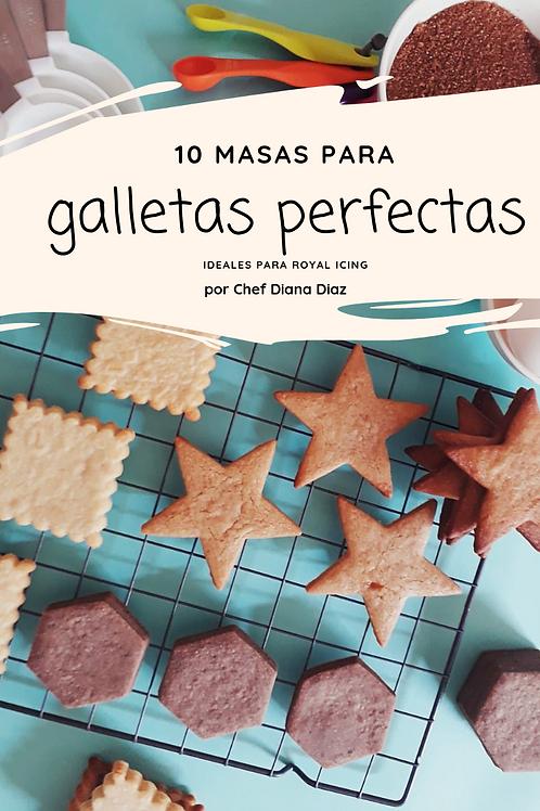 RECETARIO 10 MASAS GALLETAS PERFECTAS